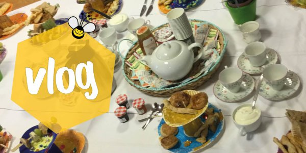 Vlog: kinderen organiseren high tea in de herfstvakantie